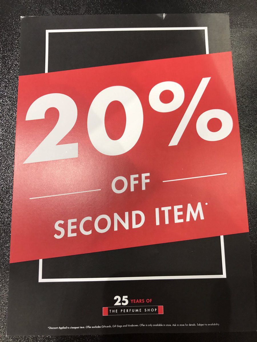 The sun is out Come down 2 @FossePark and receive 20% of second item ..We have lots of summer scents waiting for you to try #bankholiday <br>http://pic.twitter.com/bPNoFkK8LW