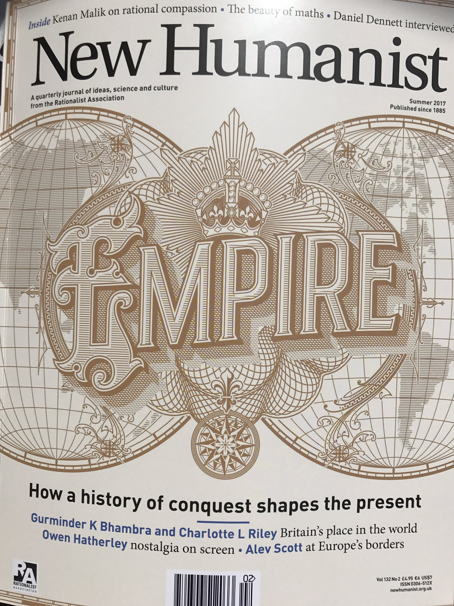 Prep for tomorrow's #EverydayEmpires conference @unibirmingham with @lottelydia @GKBhambra 'Same history, different memories' @NewHumanist https://t.co/TNKYQOp54U