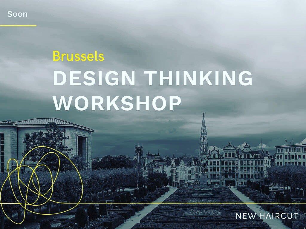 2 more weeks and we'll be teaching #designsprints & #designthinking in #brusells pic.twitter.com/iMqMJPzdXe