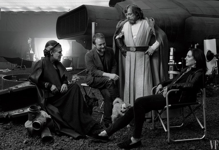 did anyone else think of that ESB behind-the-scenes pic when they saw this one from TLJ? #StarWars #TheLastJedi<br>http://pic.twitter.com/3fMiFBzsCu