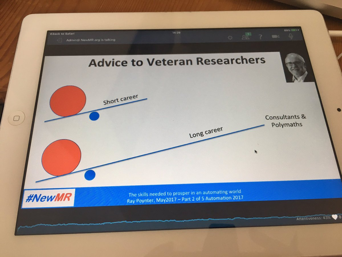 There&#39;s a lot of info out there for new/young researchers but here&#39;s some for veteran researchers - could you be an experts expert? #NewMR <br>http://pic.twitter.com/YjLzUesfMl