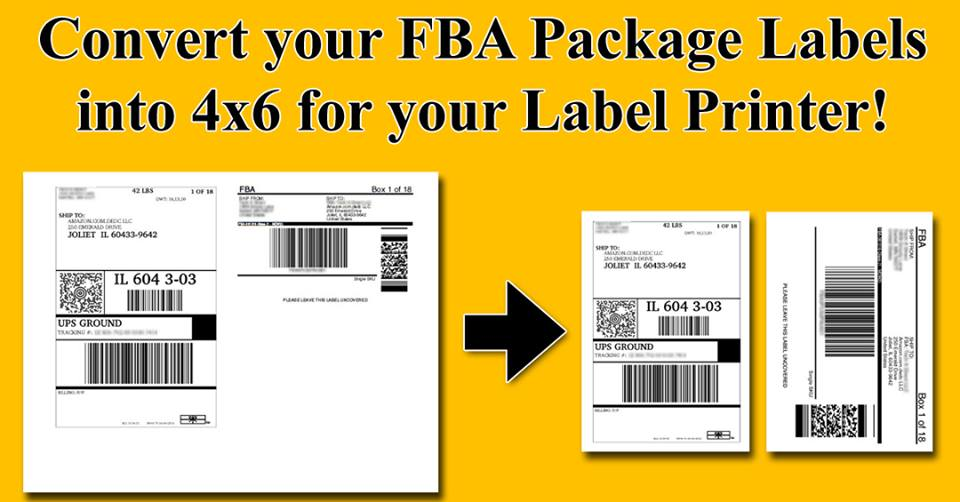 amazon fba shipping label