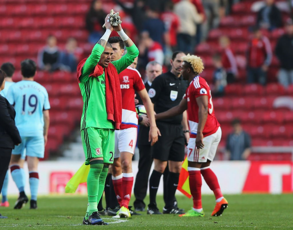 Middlesbrough have confirmed Victor Valdes is leaving the club