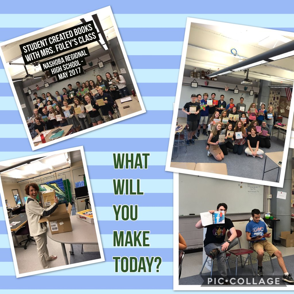 What will you make today? #PBL @FoleyProcko #nashobalearns  https://t.co/VaqBujwCPS https://t.co/PO1syjXX2D