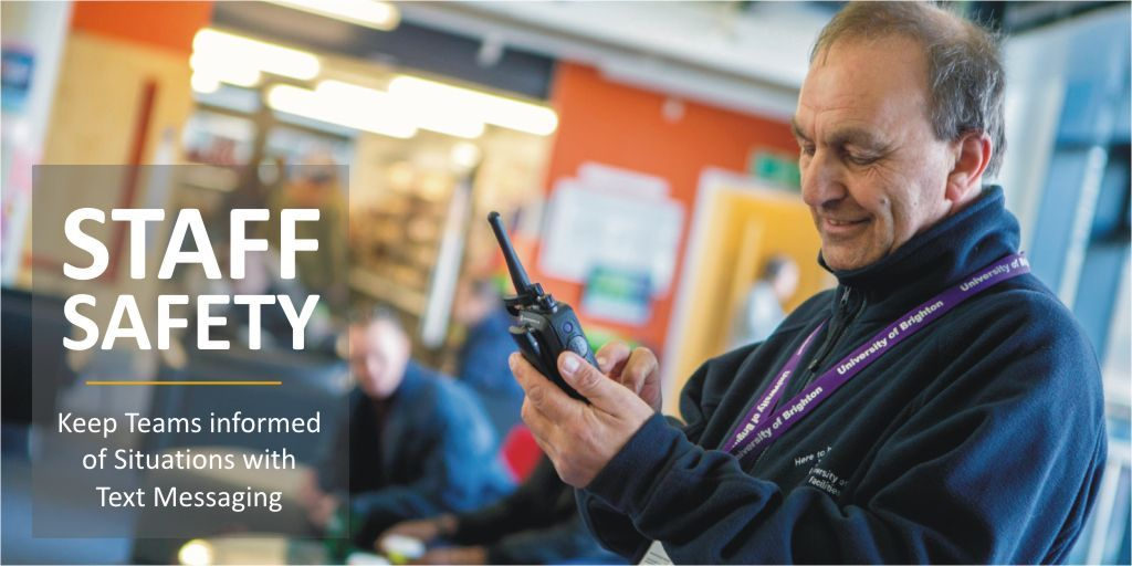 #WirelessWednesday - Keep your Team informed of Situations with Text Messaging on your #twowayradios https://t.co/rLZ97VBpRo #CampusSecurity