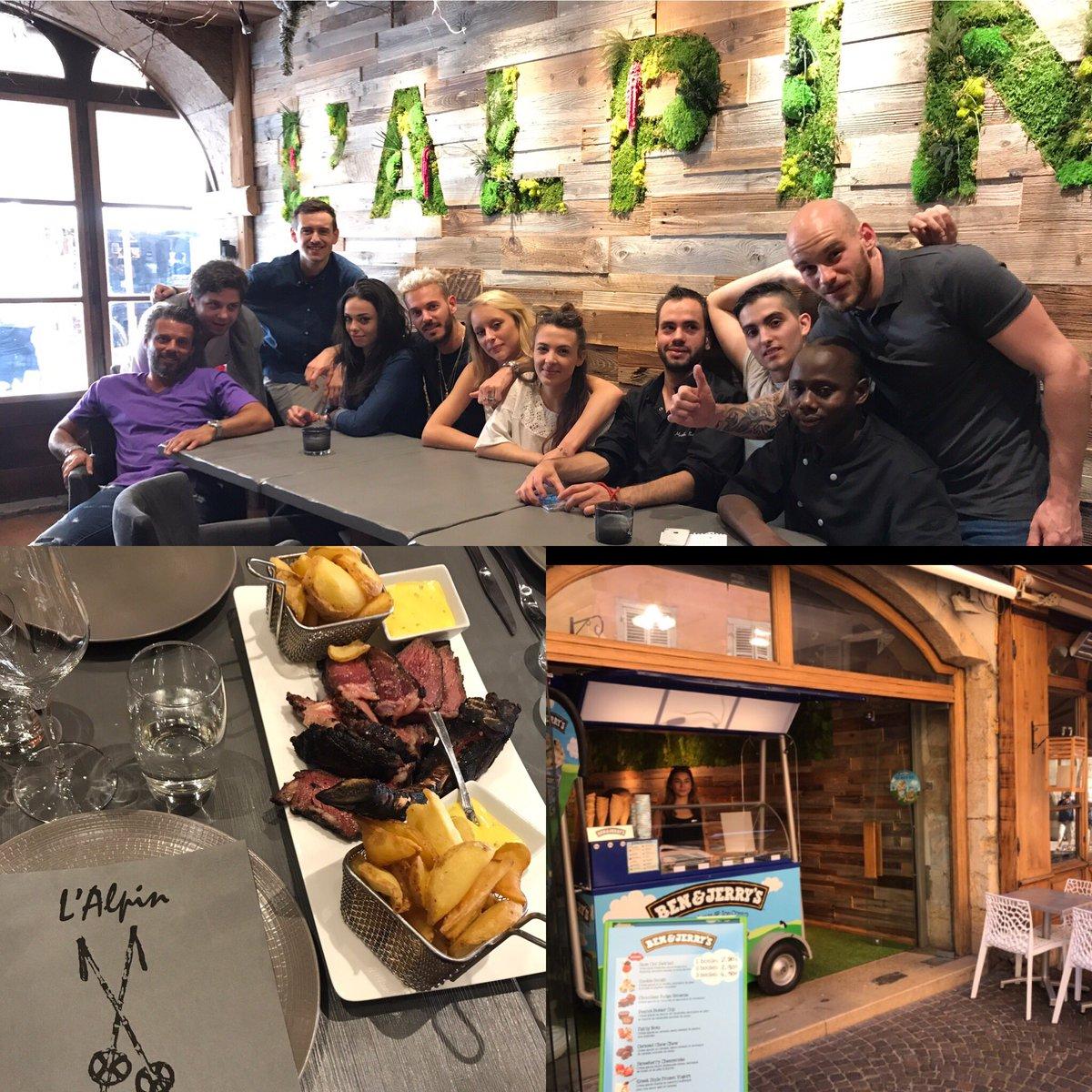 Passé manger un bout et voir nos équipes à l'Alpin Annecy 😋+ jusqu'au 30 septembre partenariat avec BEN & JERRY'S 🍦