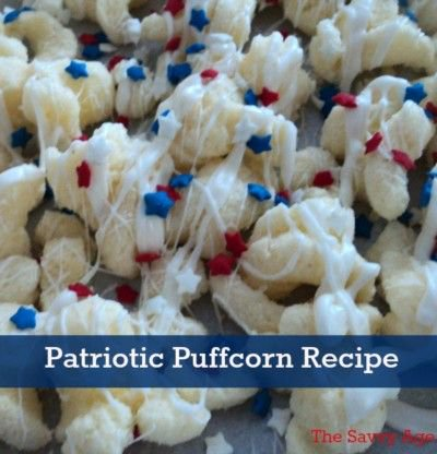 No Bake! Patriotic Puffcorn Recipe For The Summer