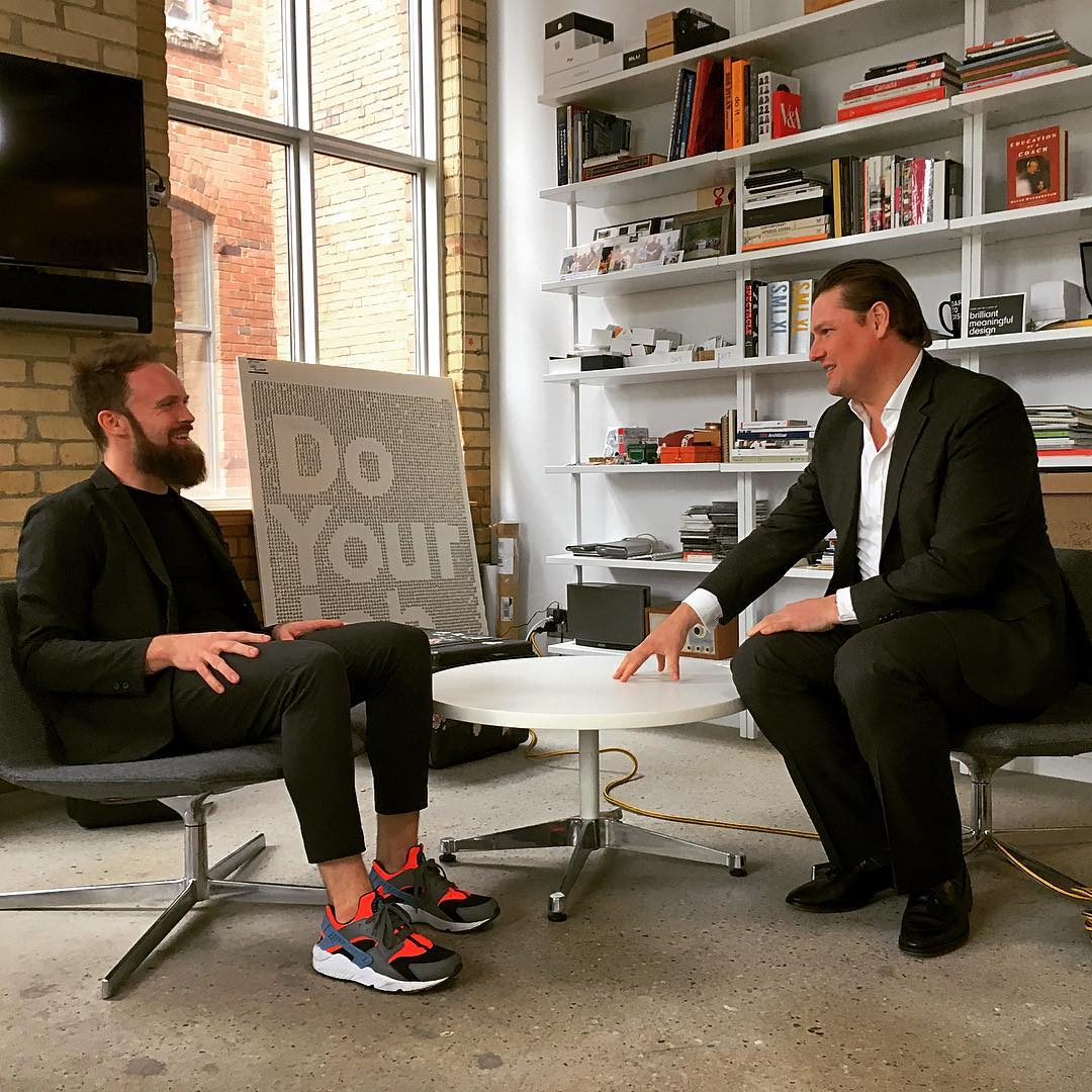 BMD CEO Hunter Tura interviewed by @gdurrell for the upcoming Design Canada film https://t.co/VgMDw2TfZ6 https://t.co/hTMLTsP6OP