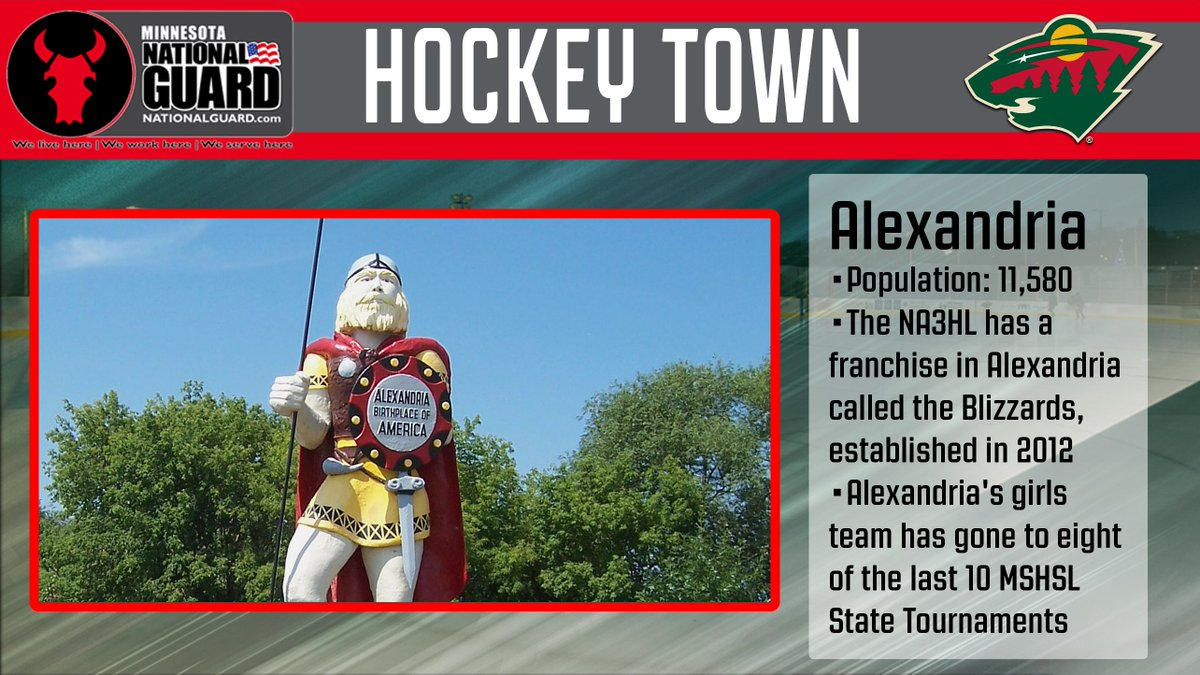 Our final @MinnesotaArmyNG Hockey Town is Alexandria. Thanks for voting, #StateOfHockey! See the winning towns → ow.ly/C3WJ30aZjgv