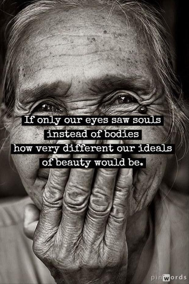 If our eyes saw souls instead of bodies... #mentalhealth #recovery <br>http://pic.twitter.com/989OPs26BZ