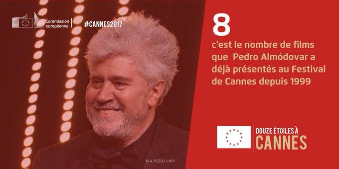 Premier président espagnol du jury à Cannes, Pedro #Almodóvar incarne la richesse de la production cinématographique en Europe ! #Cannes2017