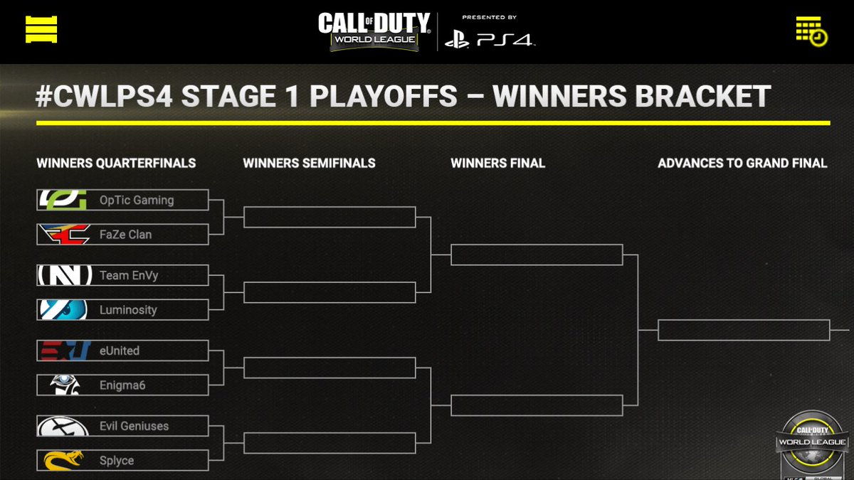 Woah! Super early match up between @OpTicGaming  and @FaZeClan in #CWL Stage 1 Playoffs! #Epic  @DNR_CREW @HyperRTs @NightRTs @FameRTs<br>http://pic.twitter.com/akMxu5kWYp