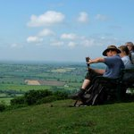 Today's walk on Woton Hill overlooking the Severn Valley