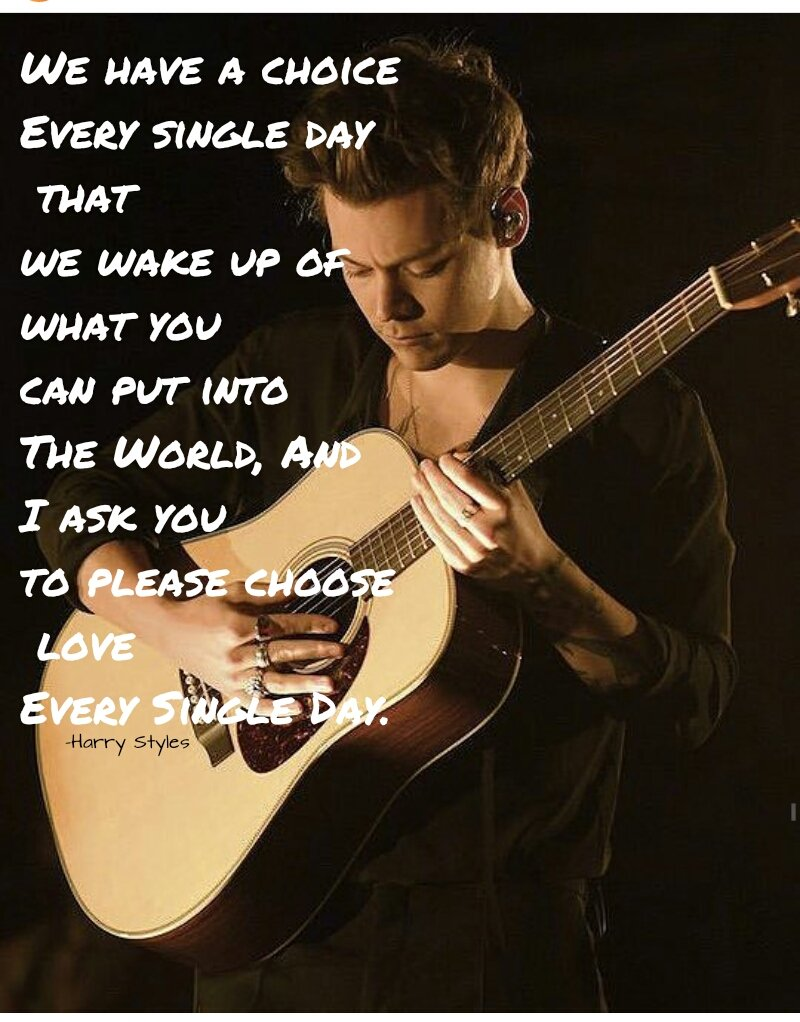 @Harry_Styles   His Words #Harry_styles  #Manchesterpic.twitter.com/rqC64Rf1eQ