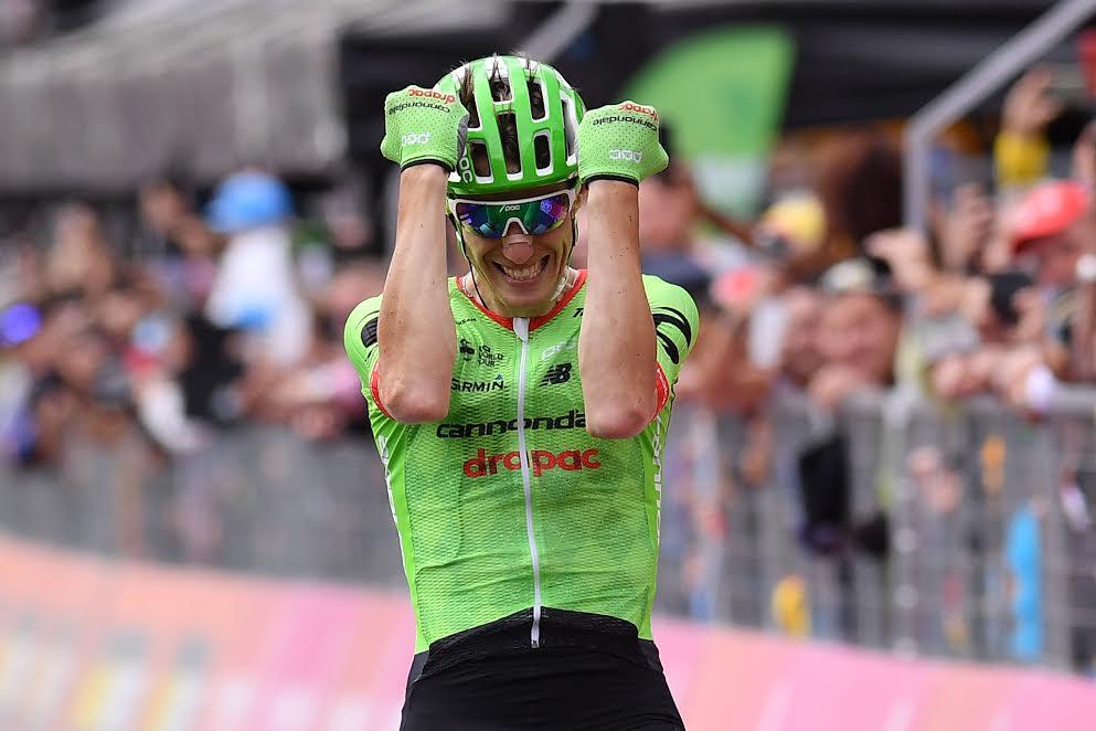 Giro d'Italia 2017: Rolland vince all'arrivo di Canazei. Dumoulin Maglia Rosa, classifica immutata