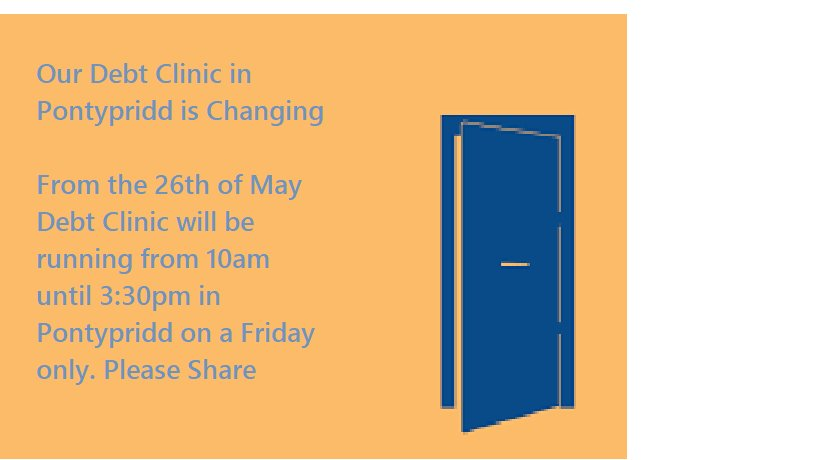 Please RT  Changes to our debt service in #Ponty which is now all day on a #Friday <br>http://pic.twitter.com/yOwxeoDZyd