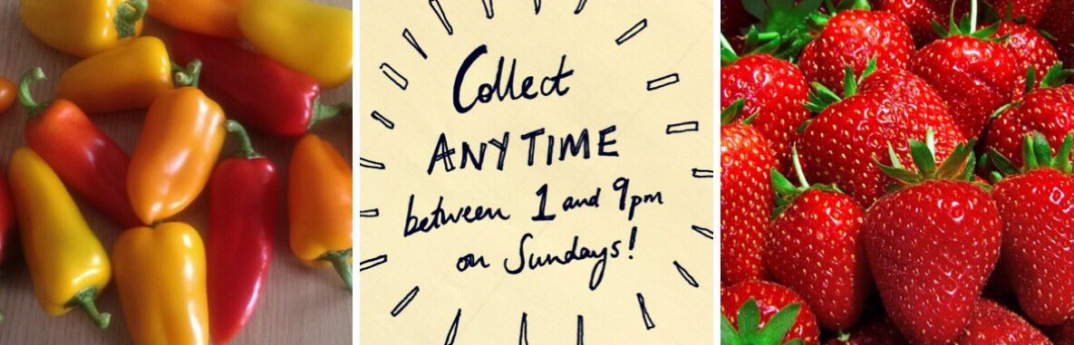 We&#39;ve extended our hours! Collect until 9pm at King Charles Ist from Sunday; get fresh &amp; fair local food for #bankholiday BBQs + picnics  <br>http://pic.twitter.com/nxrT6mhdUk