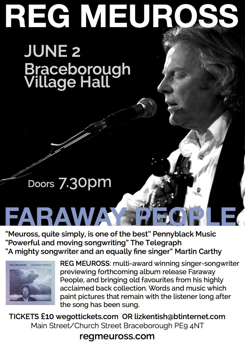 FRI 2 JUN Hear me test (reputedly) v beautiful acoustics #Braceborough Village Hall  https:// goo.gl/K1yTbd  &nbsp;    https:// youtu.be/U7HGLm2_oso  &nbsp;   #gigs <br>http://pic.twitter.com/PkvapMkuEJ