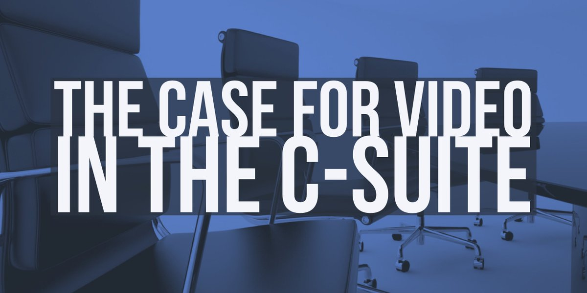 The Case for Video Production in the C-suite Read NOW:  http:// bit.ly/csuitevideo  &nbsp;   #marketing #PR #corporatevideo #contentmarketing #business<br>http://pic.twitter.com/40ShDNLoZi