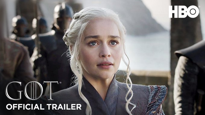 The great war begins 7.16. Rally the realm. Share the official #GameofThrones Season 7 trailer. #GoTS7