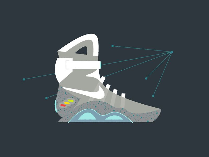 The &quot;Mag&quot; by @chazrusso:  http:// buff.ly/2q90cmE  &nbsp;   #bttf #nike #hypebeast #airmag #mag #illustration #dribbble<br>http://pic.twitter.com/dBD3X9tfvv