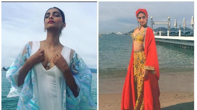 Sonam Kapoor channels her inner bohemian goddess at the Cannes Film Festival    #SonamKapoor #SonamKapoorCannes http://tinyurl.com/jwvk5nt