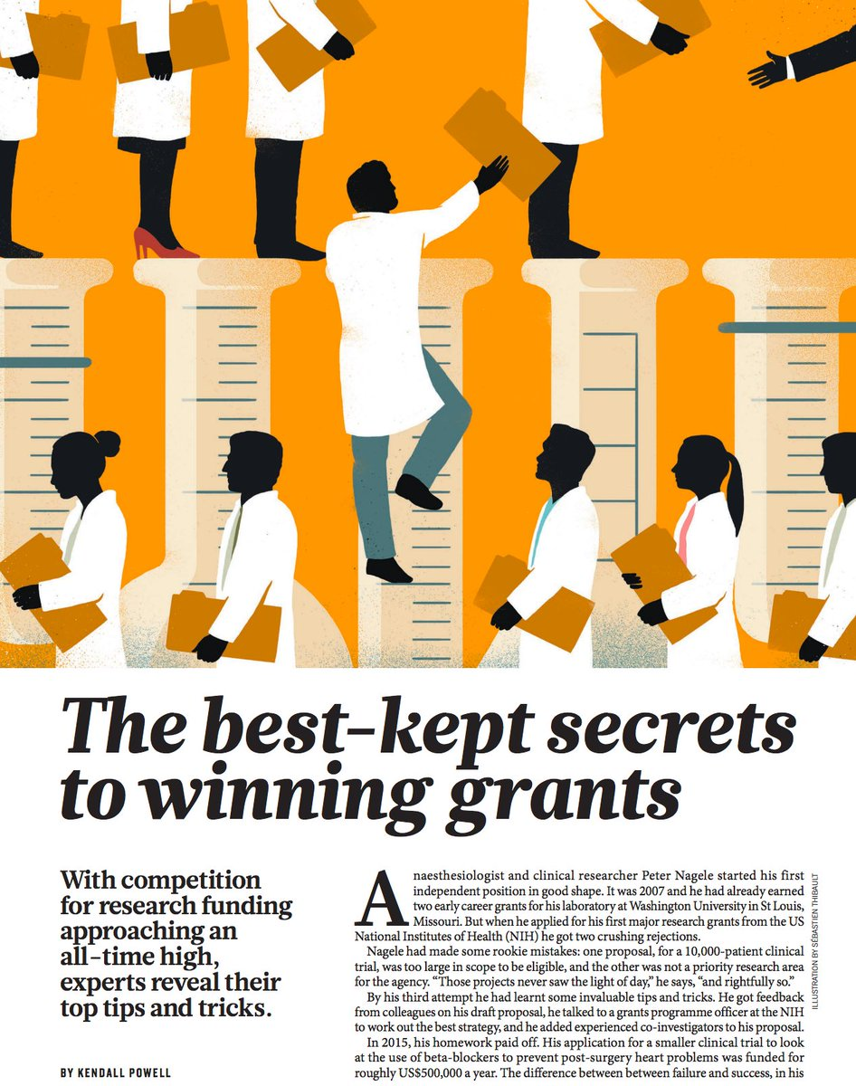 Applying for #grants for #research is more a #strategic game and tricks than about the #science itself. @nature  http:// buff.ly/2rTnid7  &nbsp;  <br>http://pic.twitter.com/xkD112RqYC