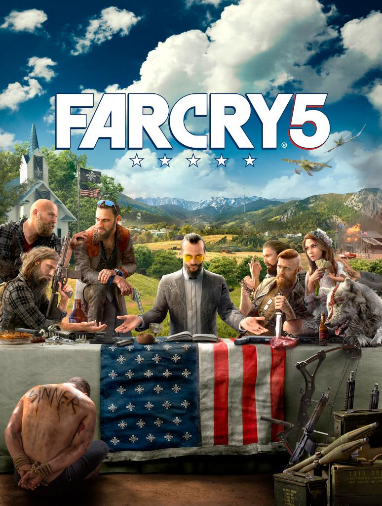 Far Cry 5's new cover art released, meet the characters https://t.co/2e51crNbzt