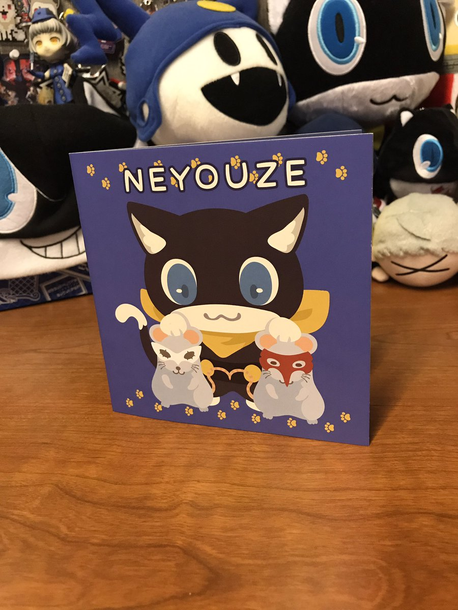 this persona 5 fan art book by @rizuNM is so unbelievably cute 😊 https...
