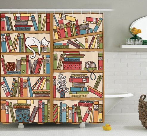 Goodreads On Twitter 9 Literary Shower Curtains To Make Your