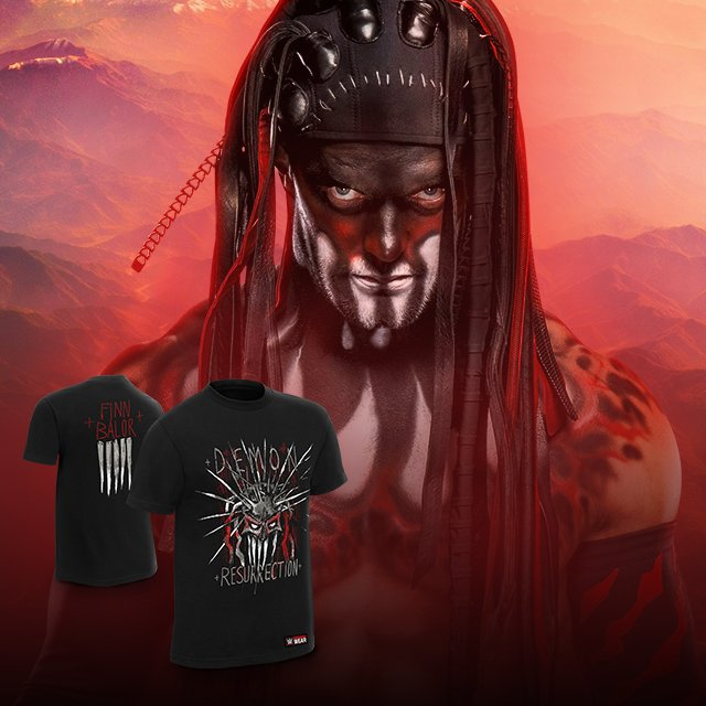 Get in touch with your demon side. @FinnBalor #DemonResurrection tee now available at #WWEShop! #WWE #FinnBalor   http:// bit.ly/2qhGxN3  &nbsp;  <br>http://pic.twitter.com/Knbkfdx2t3