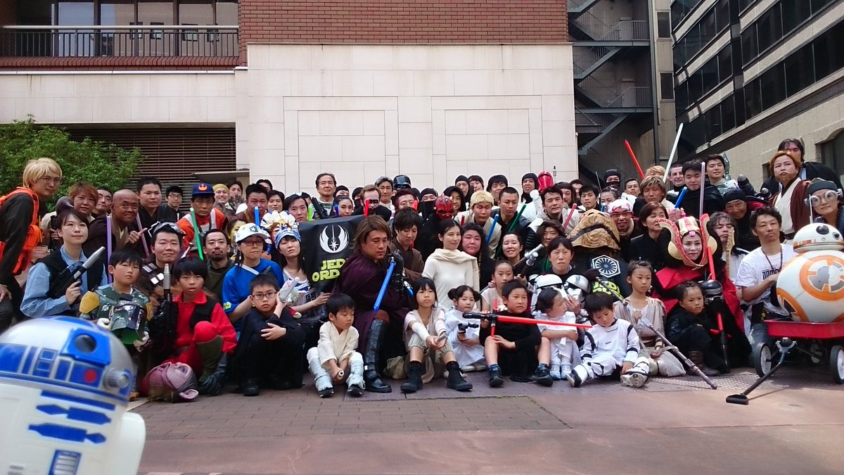 HAPPY 40th anniversary From JAPAN!!!!  May the FORCE be with you!!!! #starwars <br>http://pic.twitter.com/aUVTTUduG3
