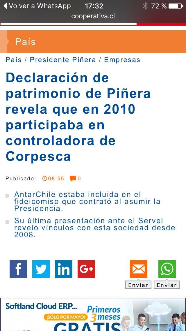 Nuestro apoyo a @nathaly_ Alvarez, ex periodista de @cooperativa que renunció por censura a su nota sobre #corpesca. https://t.co/uCIOhbxJTy