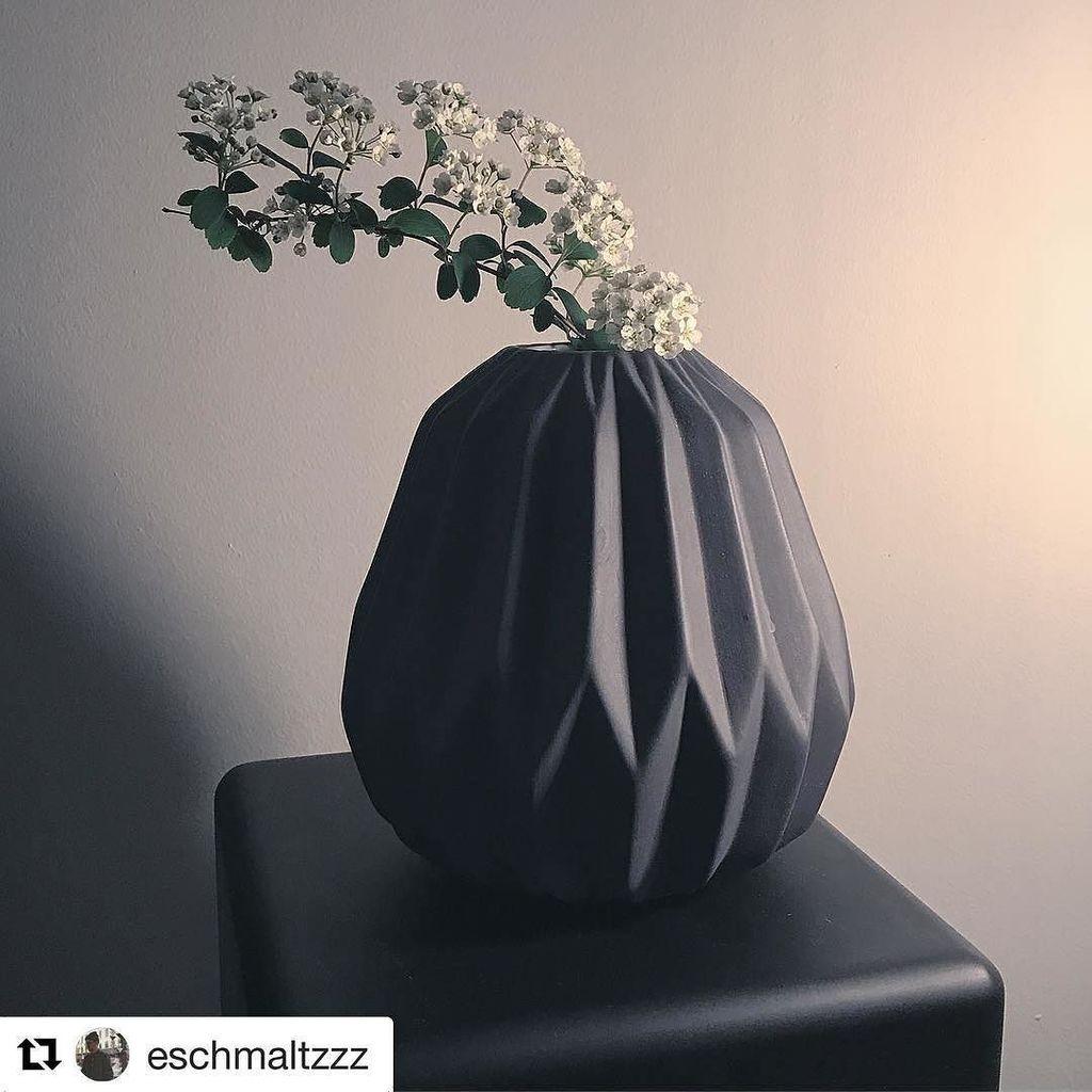 great shot of our matte black geo vase by our friend @eschmaltzzz. -----------------------------------# #vase #ce…  http:// ift.tt/2riogUa  &nbsp;  <br>http://pic.twitter.com/XEVbCAbdV3