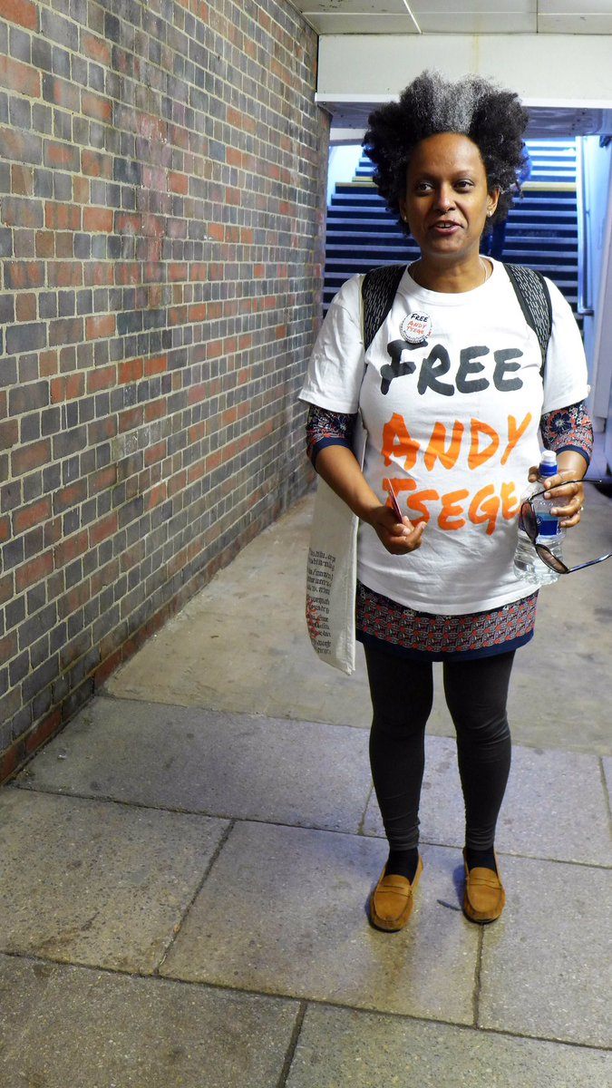 Yemi out on the #Maidenhead campaign trail today raising awareness for #FreeAndyTsege - act now @theresa_may @BorisJohnson #Election2017 <br>http://pic.twitter.com/lM58DZmjZT