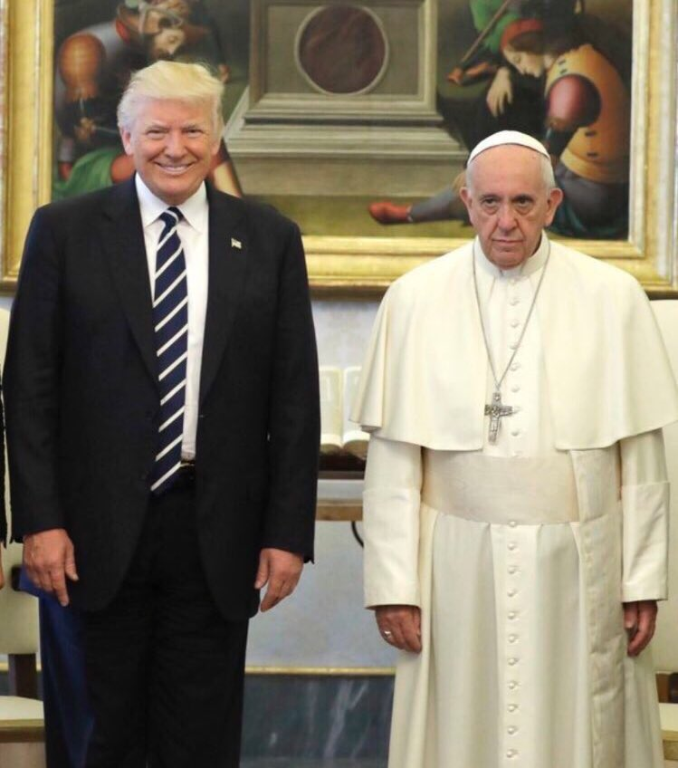 Image result for idiot Pope