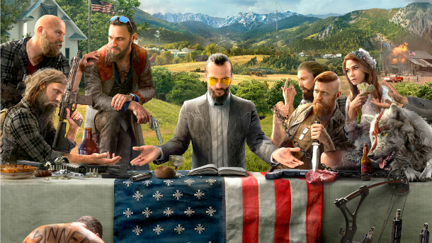 Far Cry 5 Art Reveals More About Setting, Characters https://t.co/mbyA...