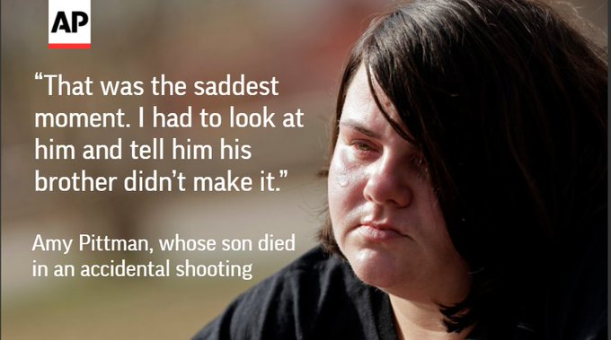 Kids die from gun accidents in the US about once a week. Should adults be held accountable? By @AP @USATODAY. https://t.co/j6HtzmKD7t
