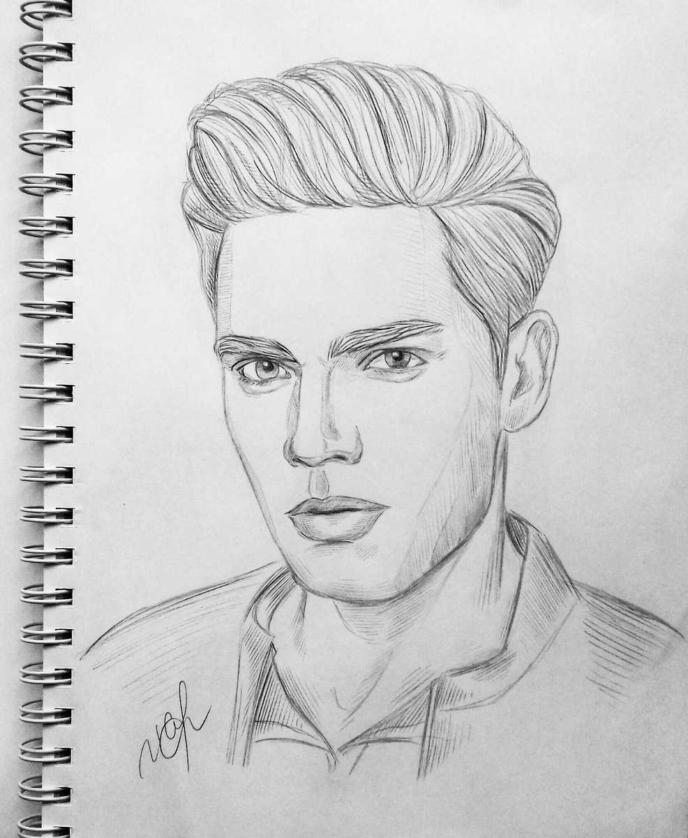 Done #DominicSherwood #JaceMorgenstern #JaceWayland #Shadowhunters #portrait #sketchbook #sketch <br>http://pic.twitter.com/pq8aIIr5vG