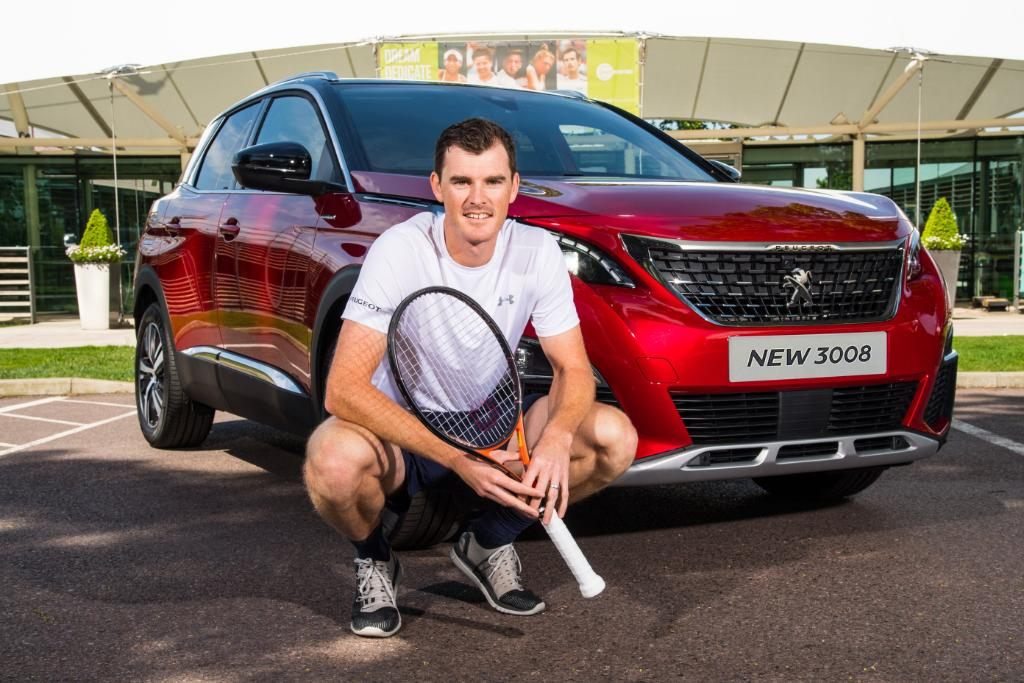NEWS: #Peugeot UK brand ambassador, @jamie_murray takes delivery of his all-new #Peugeot3008SUV. Find out more &gt;  http:// po.st/JuaPYe  &nbsp;  <br>http://pic.twitter.com/7Sakr0vGeX