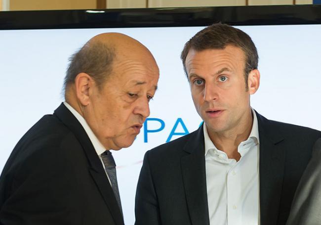 Jean-Yves Le Drian déçu d'avoir été débarqué par Macron ? >> https://t.co/6IlzvuHvgz