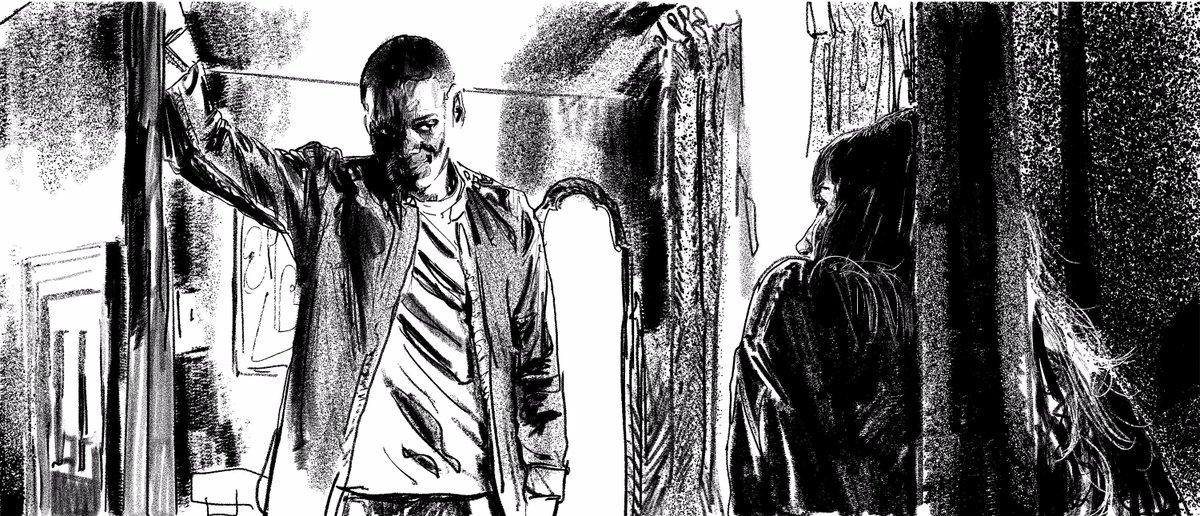 GET OUT | Director: Jordan Peele. #sketch <br>http://pic.twitter.com/dIwLvpYFop