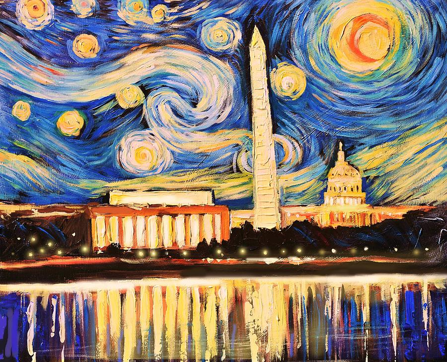 DC Starry Night painting class in our #Dupont studio 5/25. Register online  http:// ow.ly/nvis30bzSkv  &nbsp;  <br>http://pic.twitter.com/9iIgCCk91t