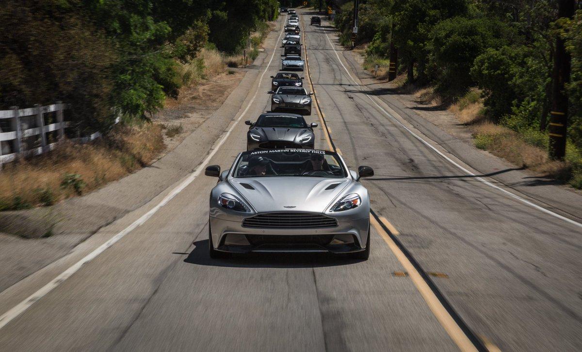 Aston Martin On Twitter Aston Martin Beverly Hills On The Road - Aston martin beverly hills