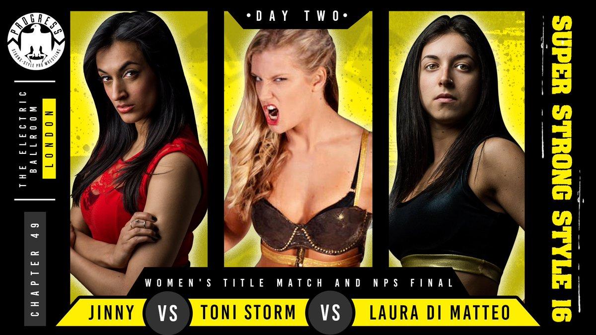 Resultados de Progress Wrestling Super Strong Style 16: Día 1 — Flamita sorprende al público británico 6