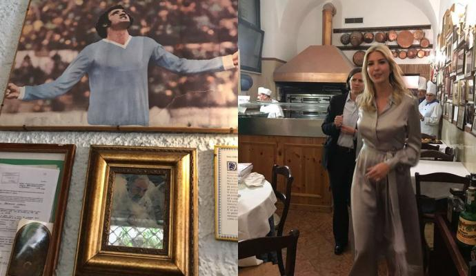 #IvankaTrump sees a picture of #Lazio&#39;s #Chinaglia and says: &quot;Which saint is this...&quot;   http:// bit.ly/2qhgJke  &nbsp;  <br>http://pic.twitter.com/VHxvGPmUnR