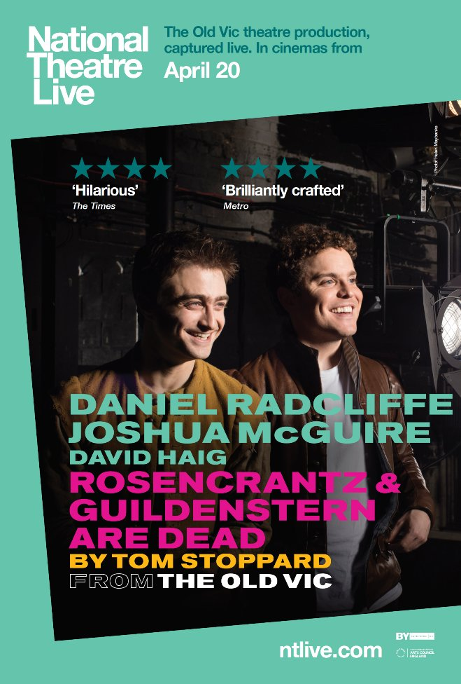 #Encore screening of the @oldvictheatre production of ROSENCRANTZ AND GUILDENSTERN ARE DEAD on SUN 5/28, 12:30!  http://www. countytheater.org/films/ntl-rose ncrantz-and-guildenstern &nbsp; … <br>http://pic.twitter.com/T4YEPn11YD