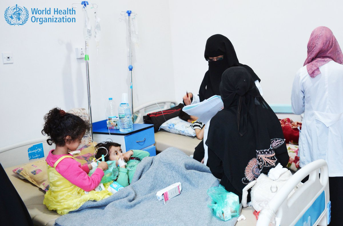 WHO scientists say a new strain of cholera is spreading rapidly in Yemen. Samples being analyzed in Paris lab now.