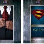 これ考えた人頭良すぎスーパーマンの告知方法がすごすぎる