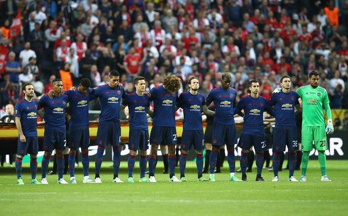مانشستر يونايتد يتوج بلقب الدوري الاوربي